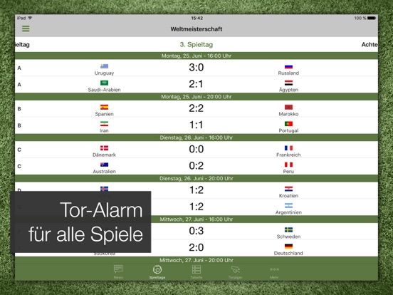 Pocket Liga - Fussball Live-ipad-2