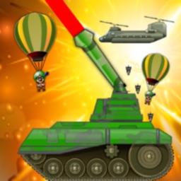 Tank vs Paratrooper