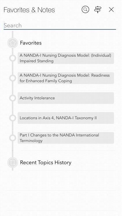 Nursing Diagnoses: NANDA codes screenshot-6