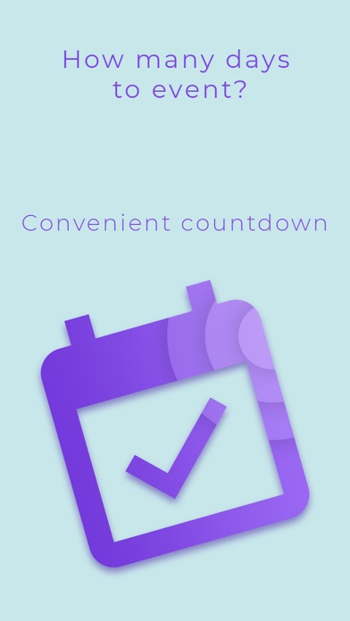 Time to event - countdown days screenshot 1
