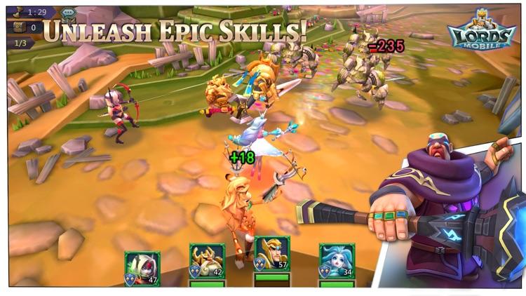 Lords Mobile: War Kingdom screenshot-3