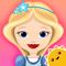 App Icon for StoryToys Princess Rapunzel App in Belgium IOS App Store