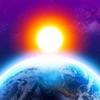 3D地球天気ウィジェット