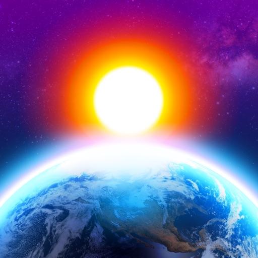 3D Земля - виджет погода