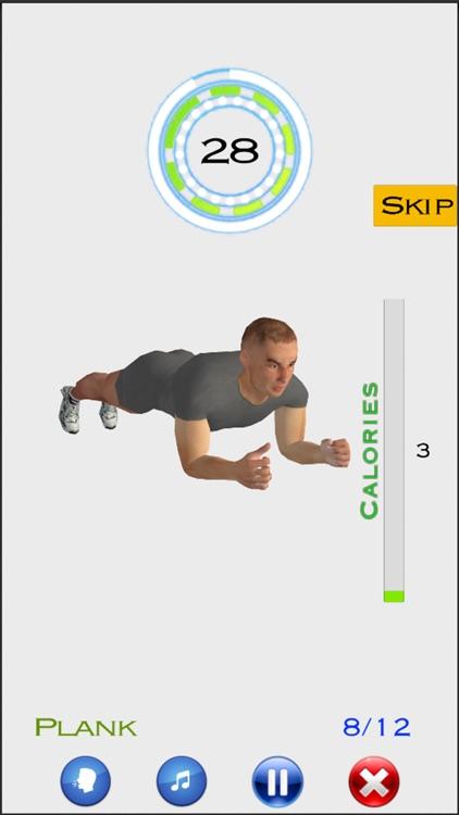 7 Min Workout by MakeMeFit screenshot-5