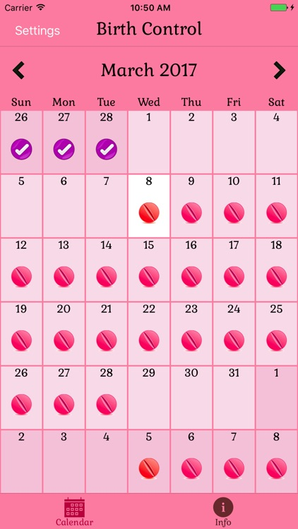 Birth Control Pill Reminder