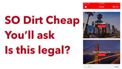 Hotels Booking Cheap & Tonight Screenshot