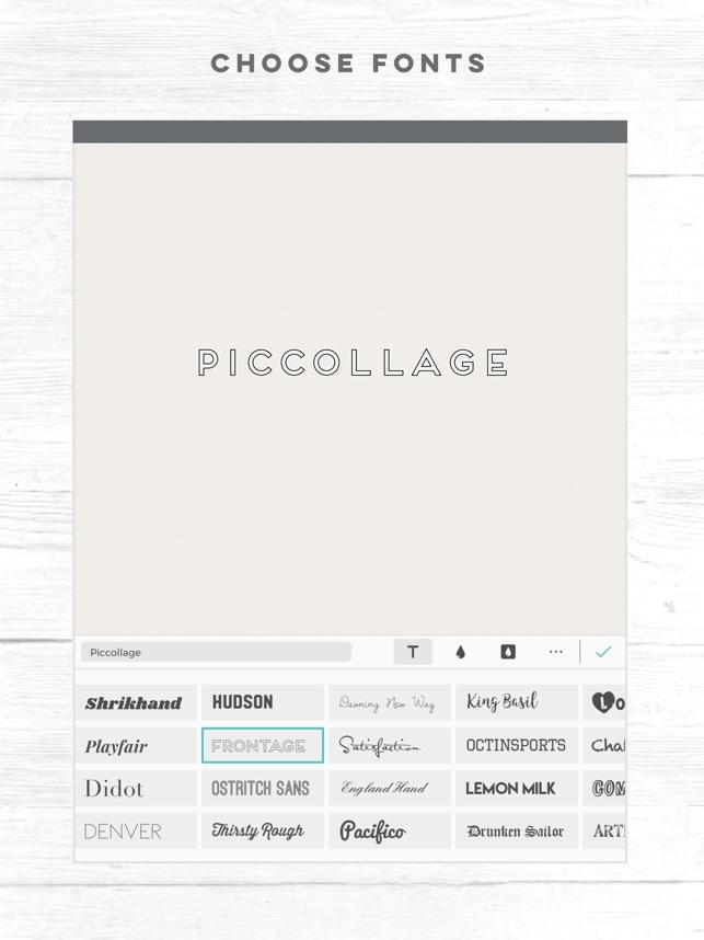 Pic Collage - Editor de Fotos en App Store
