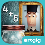 Mystery Math Town icon