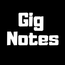 GigNotes sheet music for gigs!
