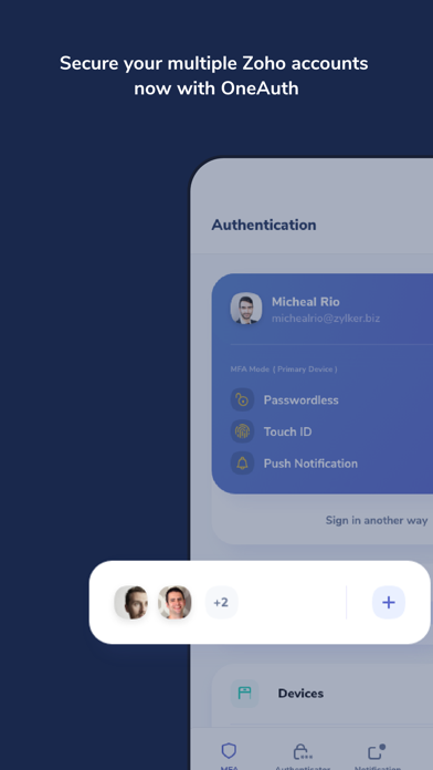 Zoho OneAuth - Authenticatorのおすすめ画像7