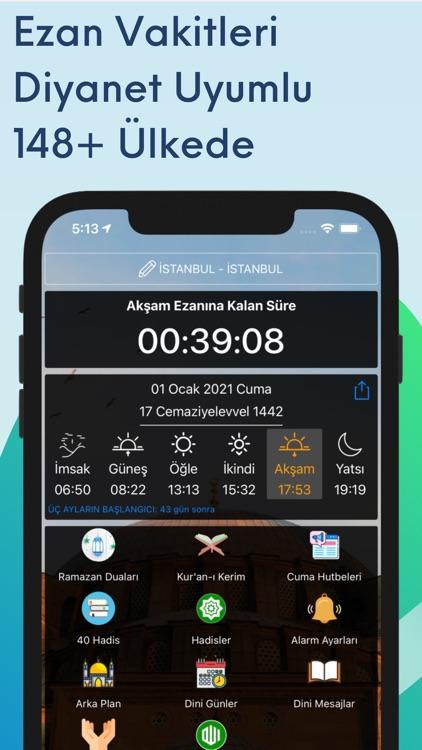 Ezan Vakti Namaz Vakitleri Pro screenshot-0
