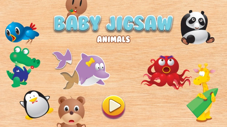 Baby Animal Jigsaw Puzzles