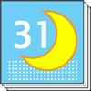 Mondkalender-Tagebuch