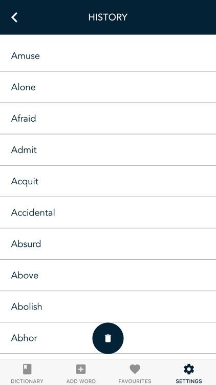 Synonyms Antonyms Dictionary screenshot-3