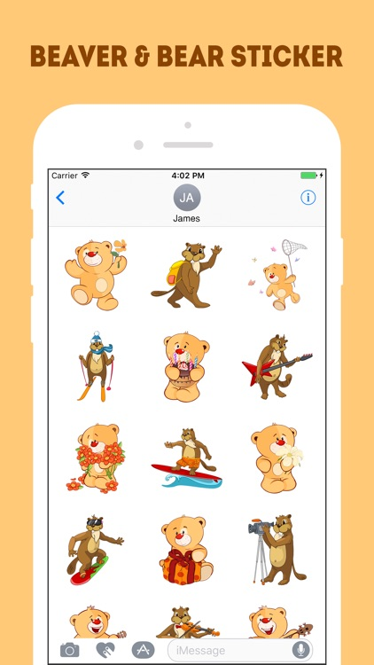 The Beaver and Bear Emojis