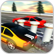 Chained Stunts: Car Ramp Race