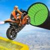 自転車360フリップスタントゲーム3D