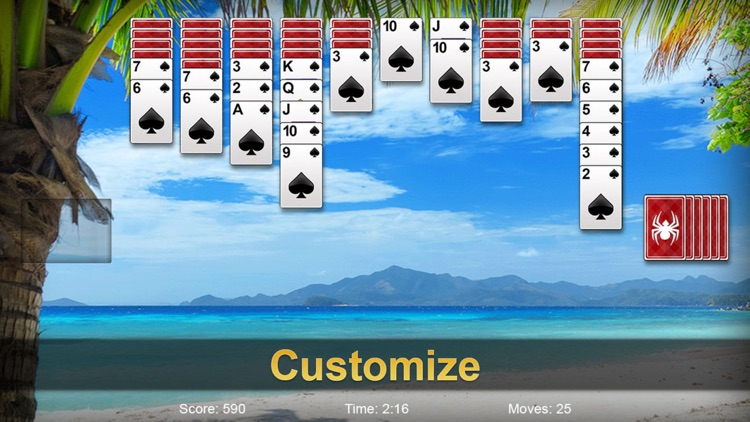 Spider Solitaire Pro ▻ screenshot-3