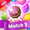 ケーキクッキングポップ:マッチ3パズルアイコン