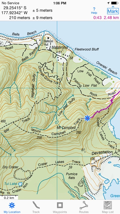 i Hike GPS NZ : Topo Maps screenshot-0
