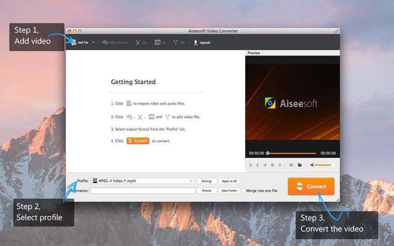 Screenshot #1 for Aiseesoft Video Converter