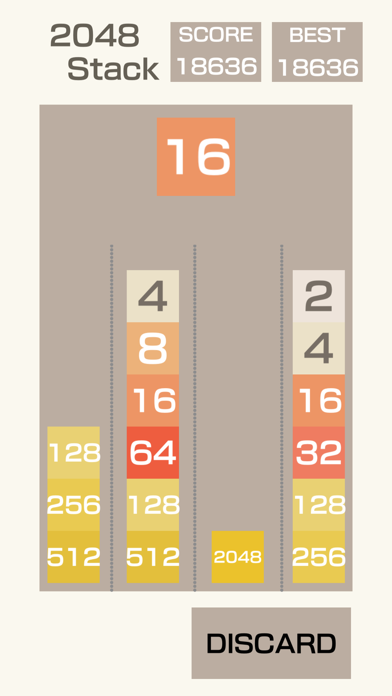 2048-Stack screenshot 5