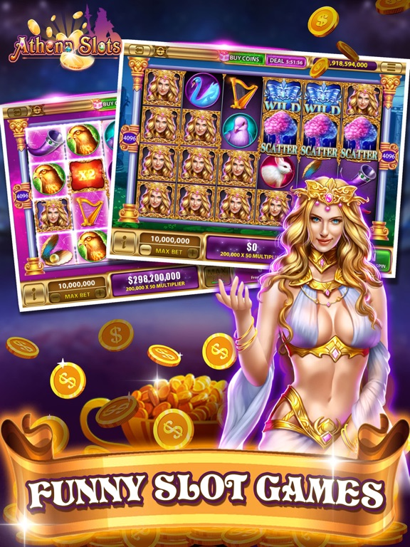 Athena Slots-funny slots-ipad-1
