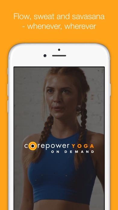CorePower Yoga On Demand screenshot 1