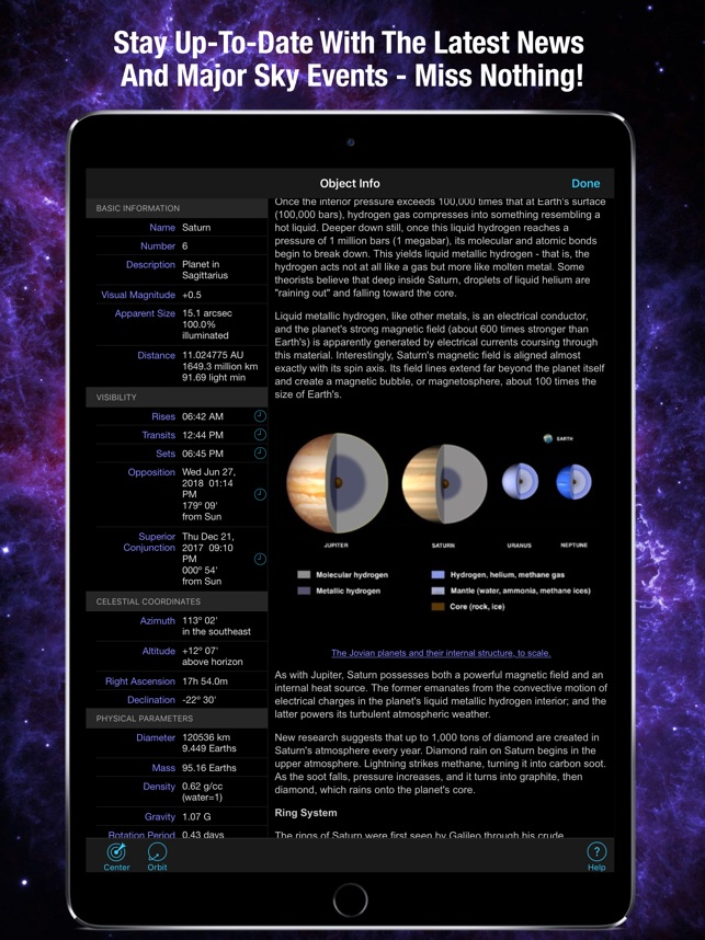 SkySafari Screenshot