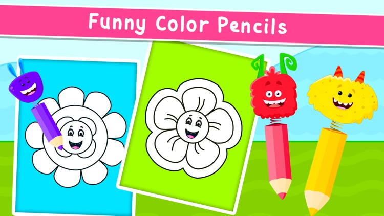 Kidlo Coloring Book For Kids screenshot-7