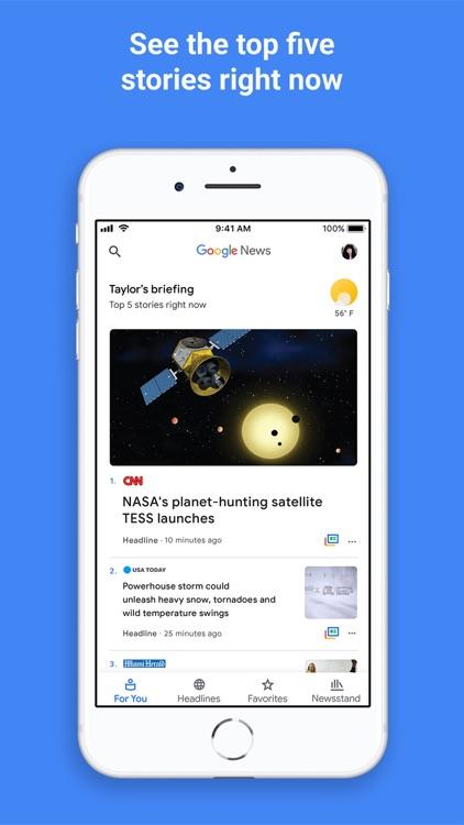 Google News screenshot-0