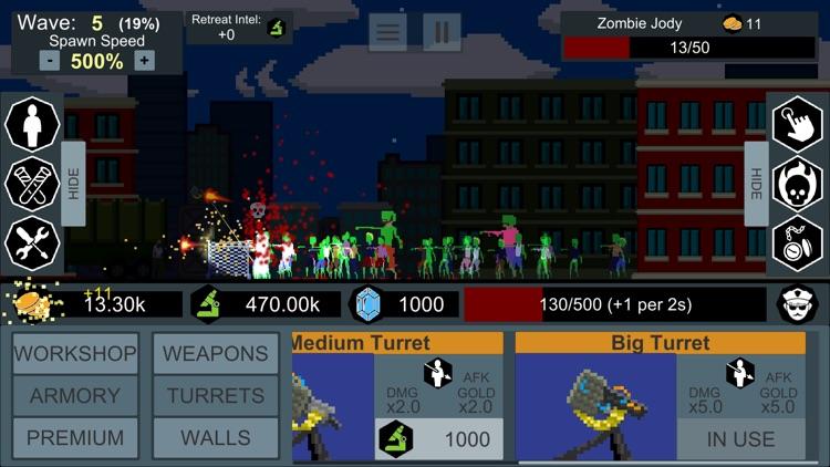 Idle Zombie Defender screenshot-3