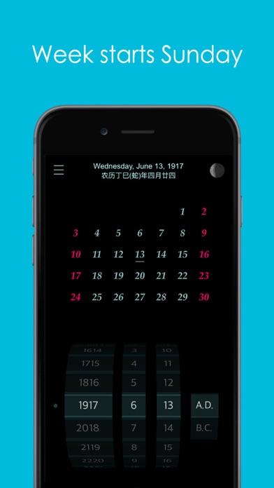 Calendar : 4500 BC to 4500 AD screenshot 3
