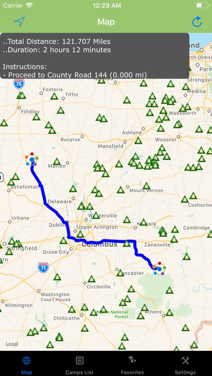 Ohio – Camping & RV spots screenshot-2