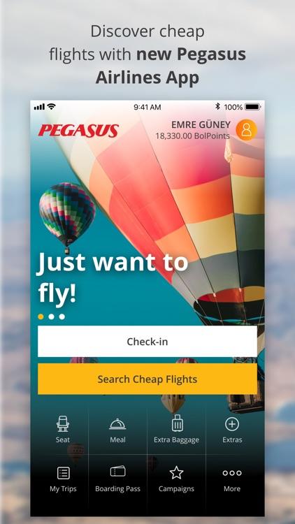 Cheap Flight Tickets | Pegasus screenshot-0