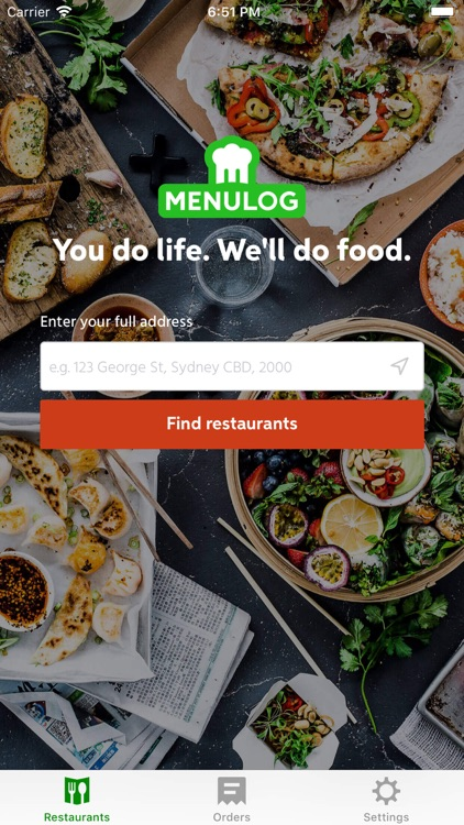 Menulog -Order Takeaway Online screenshot-0