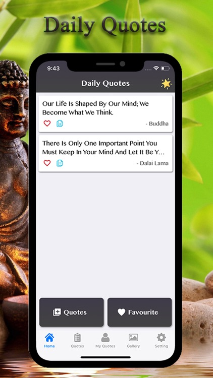 Buddhism - Buddha Quotes screenshot-0