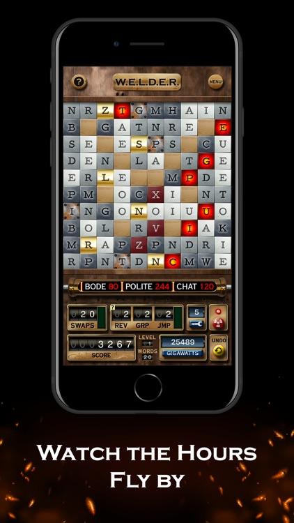 W.E.L.D.E.R. - word game screenshot-3