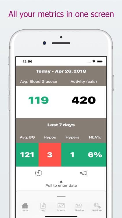 DiabetoLog - Diabetes log book screenshot-0