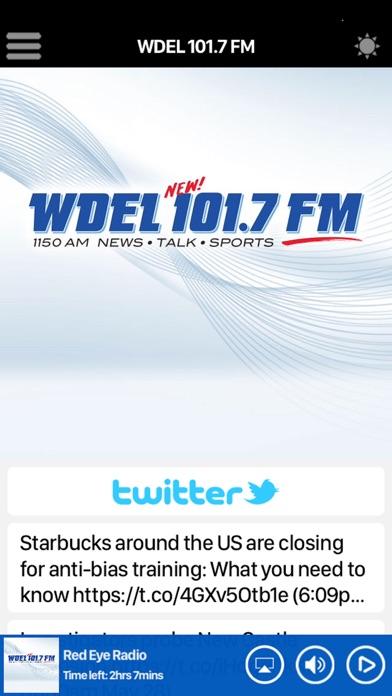 WDEL 101.7 FM Скриншоты4