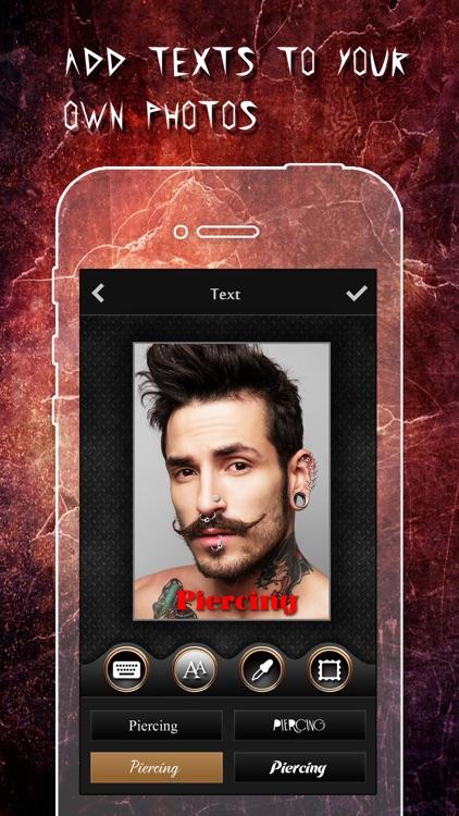 Piercing & Tattoo Design Booth screenshot-3