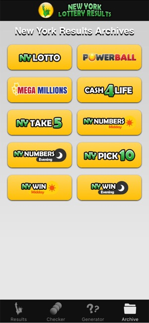 NY Lotto Results on the App Store