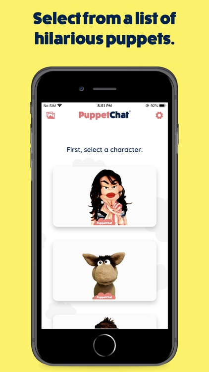PuppetChat: Real Funny Puppets