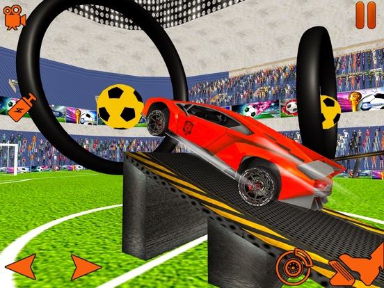 Turbo Car Soccer Rocket Ball Скриншоты5