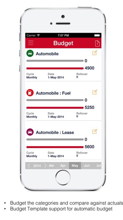 Mobile Expense  Budget Tracker