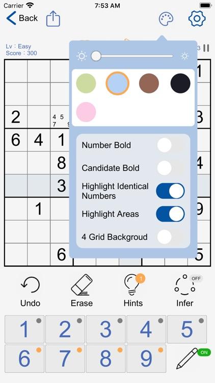 Sudoku - Logic Number Puzzles screenshot-7