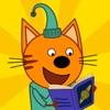 Три кота:книги, игры для детей - iPadアプリ