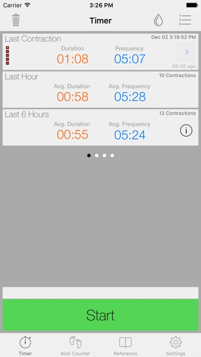 Full Term - Contraction Timer iPhone