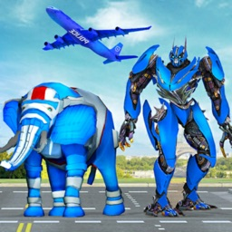 Elephant Robot Car Transform